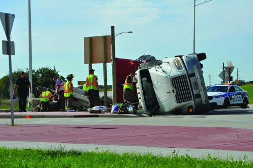 Rollover at the roundabout