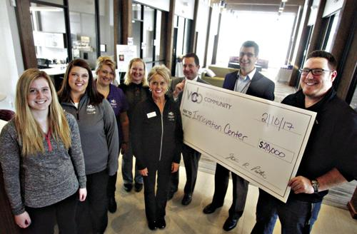 Waunakee Community Bank gives 20K to Innovation Center