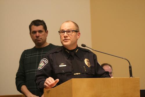 Sun Prairie Police Department presents 2014 awards