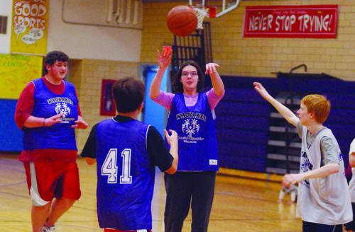 Special Olympics basketball advances
