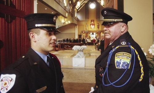 Honor Guard for Mike Adler