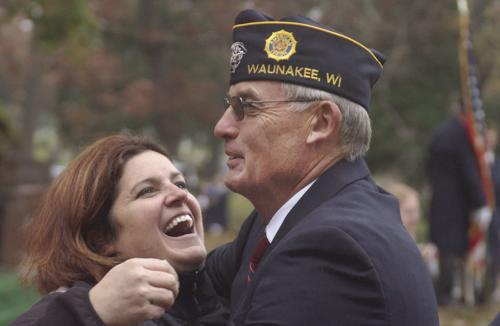 Legion salutes Moore