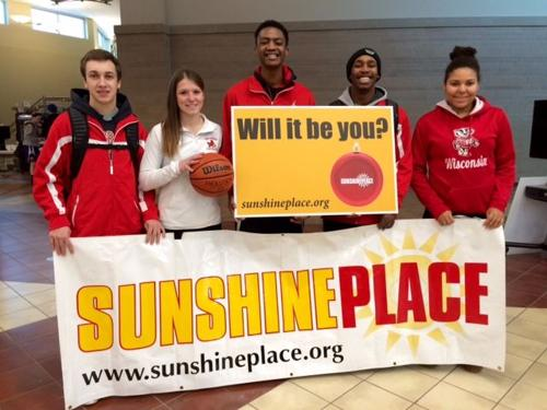 Teams host drive for Sunshine Place