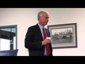 U.S. Senator Ron Johnson at Bristol Town Hall 5-28-2014 -- 3 of 3