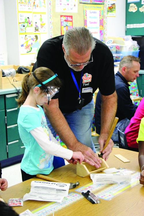 Home Depot helps build up education at C.H. Bird