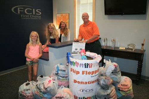 Flip Flop Into Summer: FCIS drive gets 600 pair for H20