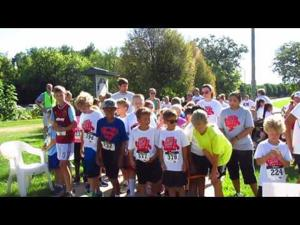 2016 Book'n It Run -- 8-6-2016 -- False start for 1 Mile Run