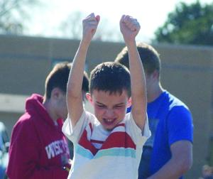 Callahan celebrates advancing to state special olympics