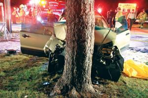 Larson Park crash