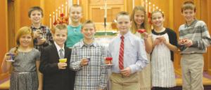 Deerfield Lutheran First Communion