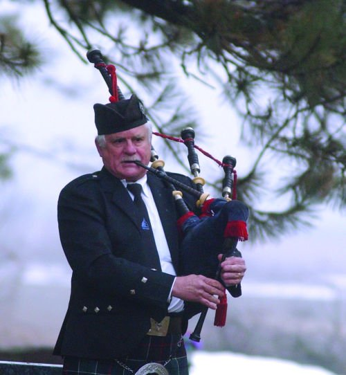 Bagpipes for Mc Chesney funeral