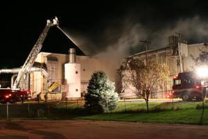 Fire at Sanimax plant