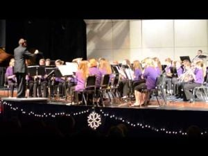 DAMS Winter Band Concert -- Seventh-Grade  Performance 1