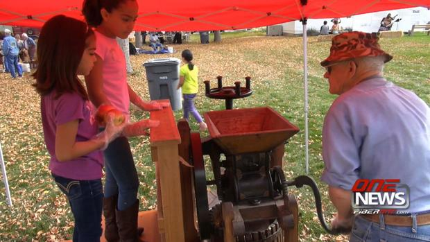 Quincy celebrates old-fashioned Harvest Festival