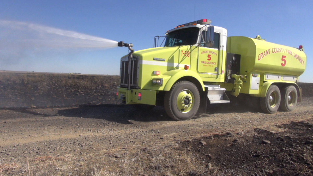 State Fish and Wildlife backhoe starts 100 acre brush fire ...