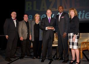 LFM president & CEO Don Benson receives MFM's Highest honor