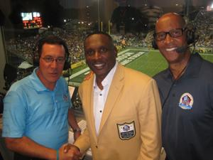 Westwood One kicked off the NFL season in Canton, Ohio