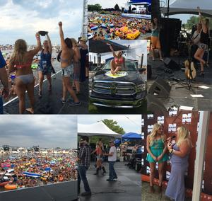 Country's John King beats the heat with NASH-FM 93.1 in Detroit