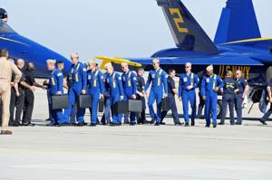 Blue Angels Arrive