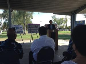 Se. Hueso announces receipt of $11 million bond for El Centro Aquatic Center