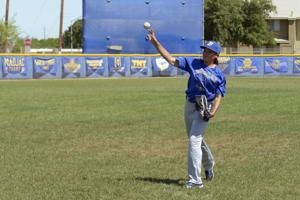 Wildcats' Alexia Phillips just wants to play baseball