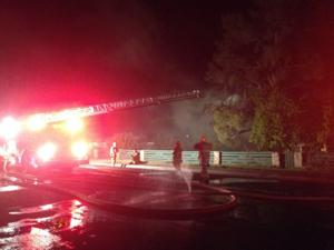 Fire burns 600 block of North First Street in Brawley