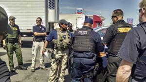 Law enforcement agencies team up for arrests
