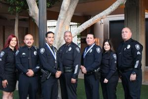 El Centro police officers honored for saving elderly man's life
