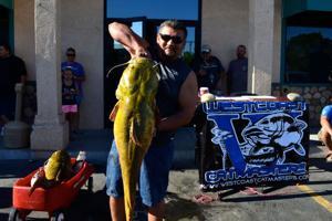 Max Garcia during Catfish Tournament
