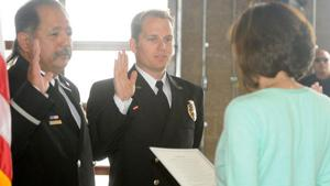 El Centro Fire Department promotes two