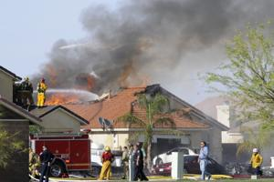 Harrier jet hits home in Imperial