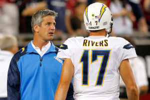 Mike McCoy Philip Rivers San Diego Chargers