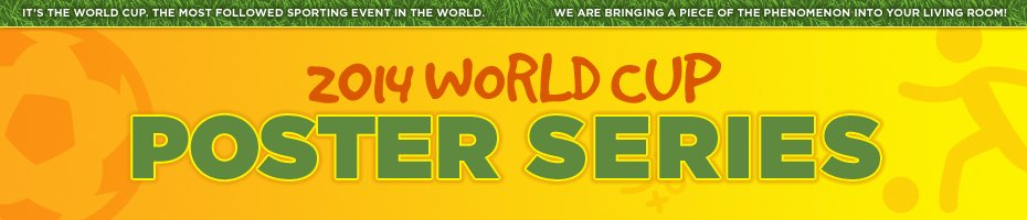 world cup poster series header