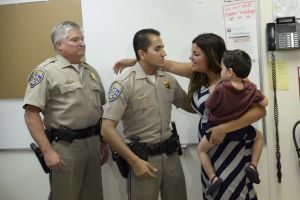 CHP officer awarded for saving baby's life