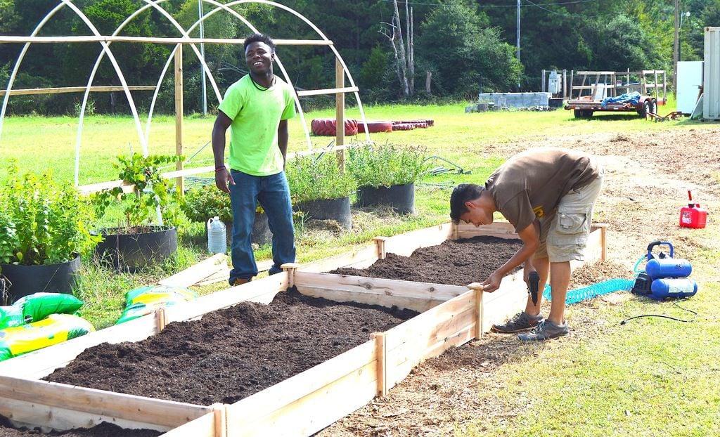 Pleasant Grove Christian School Gets Garden Grant Features Jacksonprogress
