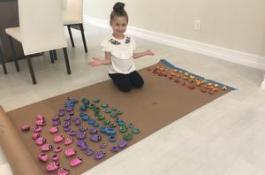Florida girl, 6, sends painted rocks for vandalized headstones in Jewish cemeteries