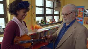 Try not to cry during this Oscar-nominated film about a Holocaust survivor and his violin
