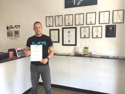 <p><span>Derrek Hofrichter, founder of East Valley Krav Maga, recently returned from Israel where he received his Senior Krav Maga Instructor certification.</span></p><p><em></em></p>