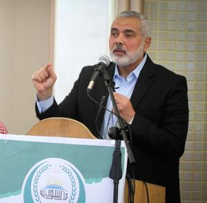 New Hamas chief makes first public appearance in Gaza