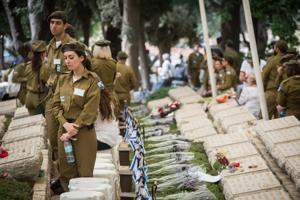 Lone soldiers commemorated  in special Jerusalem ceremony