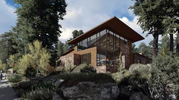 <p>Groundbreaking for The Molly Blank Jewish Community Center is scheduled for Sunday, March 26.</p><p>Rendering courtesy of Chabad of Flagstaff</p>