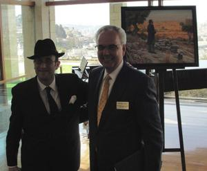 Jewish and Mormon leaders commemorate early Zionism, shared values