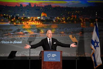 <p>About 1,000 people gathered at the Arizona Biltmore in Phoenix on the morning of March 17 for the Jewish National Fund of Arizona's annual breakfast to hear philanthropist Ronald Lauder, JNF chairman and president of the World Jewish Congress, and to show their support for Israel.</p>