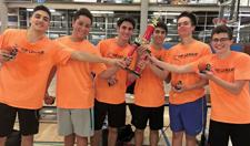 """<p>The Salk BBYO team are the champions of the second basketball season of the Jewish Youth Group Sports League, known as """"The League.""""</p><p>Photo courtesy of Jennifer Schwarz</p>"""