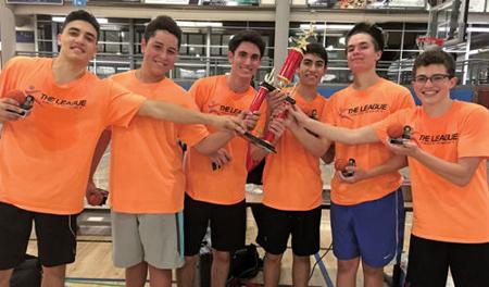 "<p>The Salk BBYO team are the champions of the second basketball season of the Jewish Youth Group Sports League, known as ""The League.""  </p><p>Photo courtesy of Jennifer Schwarz</p>"