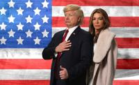 <p>John Di Domenico and Miri Tzur often are hired to portray U.S. President Donald Trump and his wife, Melania, at parties.</p>