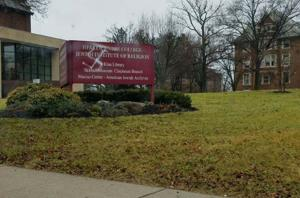Swastika painted on Reform rabbinical school's sign in Cincinnati