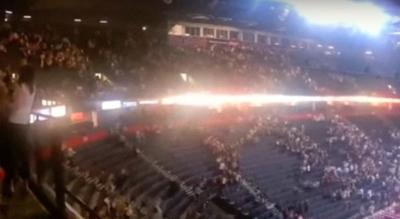 <p>Concertgoers flee Manchester Arena amid Monday's terror attack.</p>