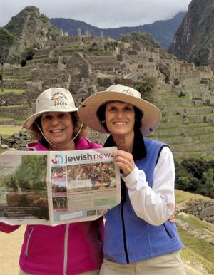 Where's your Jewish News? - Machu Picchu