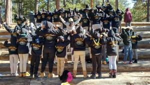 """<p>Shevet Shemesh, the Arizona chapter of Israel Scouts, held its first winter camp adventure in December, a """"Survivor""""-themed expedition of games, skill-learning activities, snow and an overnight stay on Mt. Lemmon in Tucson.</p>"""